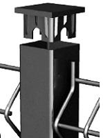Столб 61х35 ОЦ с заглушкой 2000м