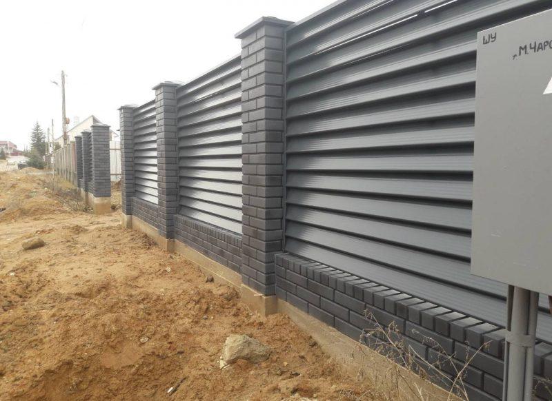 Забор жалюзи в Гродно